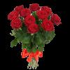 5 Красных (Белых, Кремовых, Розовых - на выбор) Роз